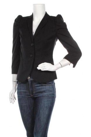 Γυναικείο σακάκι Sisley, Μέγεθος S, Χρώμα Μαύρο, Τιμή 14,62€
