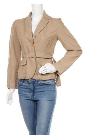 Γυναικείο σακάκι Turnover, Μέγεθος M, Χρώμα Καφέ, 93% βαμβάκι, 7% μετάξι, Τιμή 28,76€