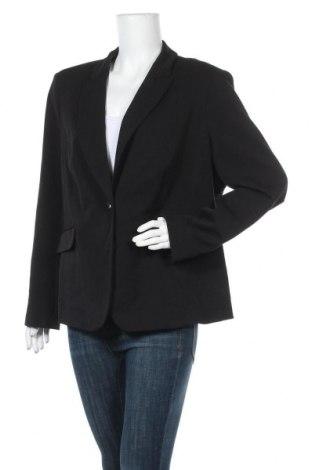 Γυναικείο σακάκι Your Sixth Sense, Μέγεθος XXL, Χρώμα Μαύρο, 63% πολυεστέρας, 33% βισκόζη, Τιμή 8,48€