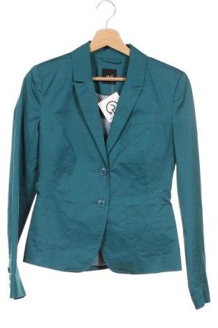 Γυναικείο σακάκι Zero, Μέγεθος XS, Χρώμα Πράσινο, 97% βαμβάκι, 3% ελαστάνη, Τιμή 14,03€