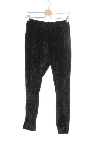 Дамско спортно долнище, Размер XS, Цвят Черен, 95% памук, 5% полиестер, Цена 21,60лв.