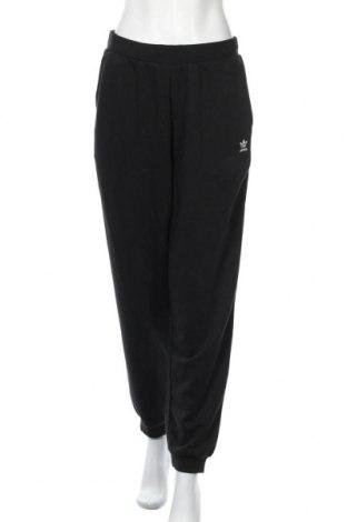Дамско спортно долнище Adidas Originals, Размер M, Цвят Черен, 70% памук, 30% полиестер, Цена 72,27лв.