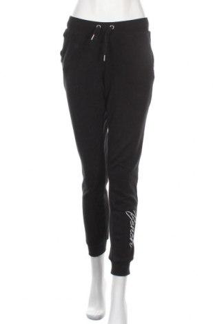 Дамско спортно долнище Bench, Размер M, Цвят Черен, 60% памук, 40% полиестер, Цена 48,00лв.