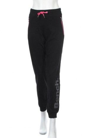 Γυναικείο αθλητικό παντελόνι Bench, Μέγεθος XL, Χρώμα Μαύρο, Βαμβάκι, Τιμή 25,97€