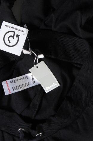 Дамско спортно долнище Bench, Размер L, Цвят Черен, 60% памук, 40% полиестер, Цена 34,50лв.
