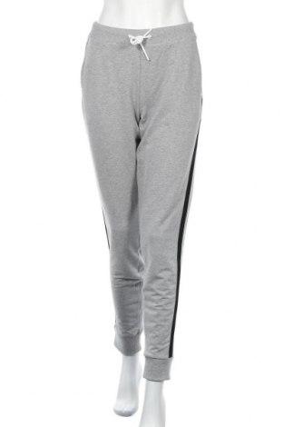 Γυναικείο αθλητικό παντελόνι Bikkembergs, Μέγεθος L, Χρώμα Γκρί, 94% βαμβάκι, 6% ελαστάνη, Τιμή 39,89€