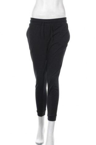 Дамско спортно долнище Even&Odd, Размер M, Цвят Черен, 60% памук, 40% полиестер, Цена 26,40лв.