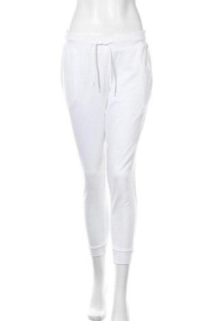 Дамско спортно долнище Even&Odd, Размер M, Цвят Бял, 60% памук, 40% полиестер, Цена 28,47лв.