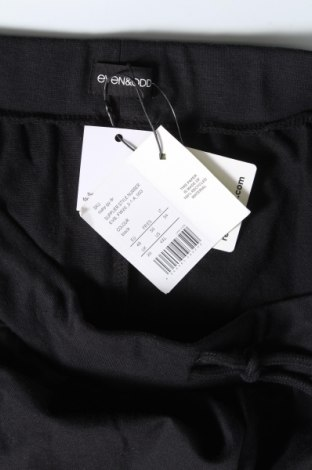 Дамско спортно долнище Even&Odd, Размер XXL, Цвят Черен, 60% памук, 40% полиестер, Цена 21,42лв.