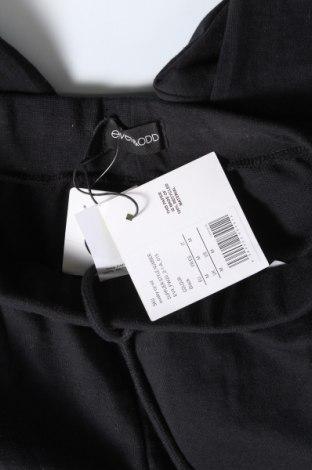 Дамско спортно долнище Even&Odd, Размер M, Цвят Черен, 60% памук, 40% полиестер, Цена 21,42лв.