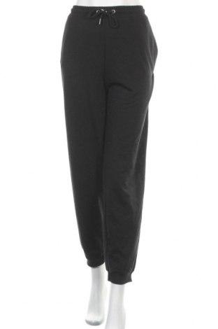 Дамско спортно долнище Even&Odd, Размер XXL, Цвят Черен, 60% памук, 40% полиестер, Цена 27,00лв.