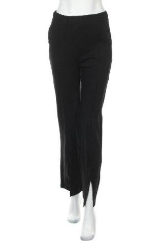 Дамско спортно долнище Gina Tricot, Размер S, Цвят Черен, 85% памук, 15% полиестер, Цена 27,60лв.