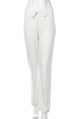 Дамско спортно долнище Gina Tricot, Размер M, Цвят Бял, 95% полиестер, 5% еластан, Цена 33,58лв.