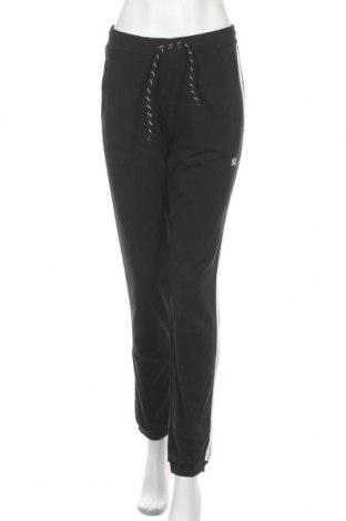 Дамско спортно долнище H.i.s, Размер S, Цвят Черен, 95% памук, 5% еластан, Цена 35,40лв.