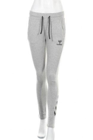 Γυναικείο αθλητικό παντελόνι Hummel, Μέγεθος XS, Χρώμα Γκρί, 76% βαμβάκι, 12% πολυεστέρας, 10% βισκόζη, 2% ελαστάνη, Τιμή 14,23€
