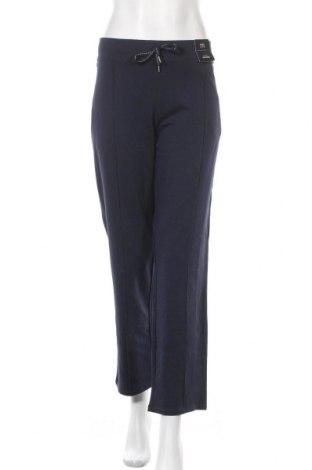 Дамско спортно долнище Marks & Spencer, Размер XL, Цвят Син, 96% памук, 4% еластан, Цена 26,25лв.