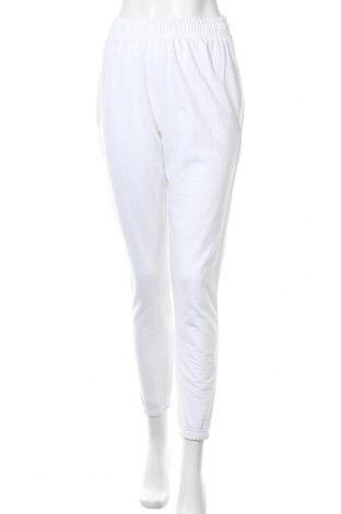 Дамско спортно долнище Missguided, Размер S, Цвят Бял, 60% памук, 40% полиестер, Цена 24,20лв.