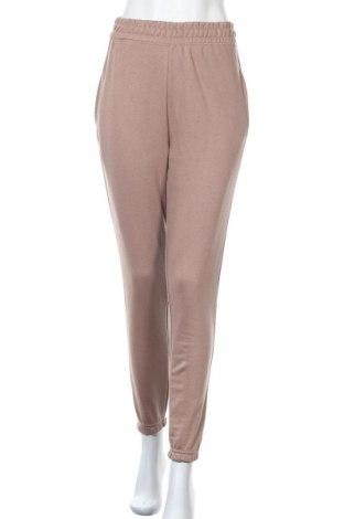 Γυναικείο αθλητικό παντελόνι Missguided, Μέγεθος M, Χρώμα Καφέ, 60% πολυεστέρας, 40% βαμβάκι, Τιμή 14,69€