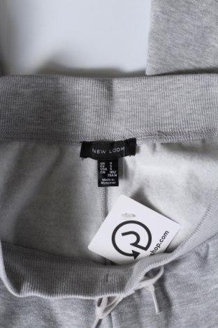 Дамско спортно долнище New Look, Размер S, Цвят Сив, 66% полиестер, 34% памук, Цена 34,50лв.