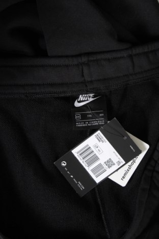 Дамско спортно долнище Nike, Размер XXL, Цвят Черен, 80% памук, 20% полиестер, Цена 29,70лв.