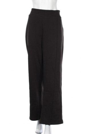 Γυναικείο αθλητικό παντελόνι Pieces, Μέγεθος XXL, Χρώμα Μαύρο, 60% βαμβάκι, 40% πολυεστέρας, Τιμή 19,56€