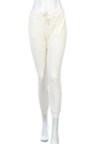 Дамско спортно долнище SUN68, Размер L, Цвят Екрю, 80% памук, 20% полиестер, Цена 22,96лв.
