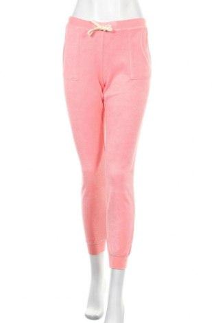 Γυναικείο αθλητικό παντελόνι SUN68, Μέγεθος L, Χρώμα Ρόζ , 80% βαμβάκι, 20% πολυεστέρας, Τιμή 18,37€