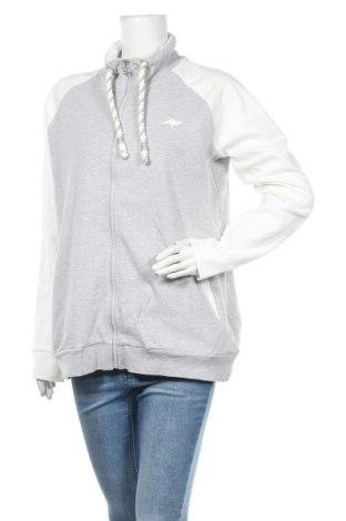 Дамско спортно горнище Kangaroos, Размер XL, Цвят Сив, 95% памук, 5% еластан, Цена 44,25лв.