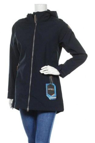 Γυναικείο μπουφάν αθλητικό Icepeak, Μέγεθος L, Χρώμα Μπλέ, Πολυεστέρας, Τιμή 40,70€