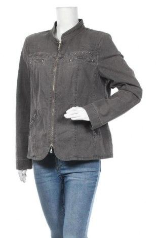 Γυναικείο μπουφάν Bexleys, Μέγεθος XL, Χρώμα Γκρί, 77% βαμβάκι, 21% πολυεστέρας, 2% ελαστάνη, Τιμή 26,63€