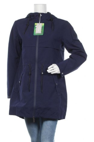 Γυναικείο μπουφάν Tamaris, Μέγεθος M, Χρώμα Μπλέ, Πολυεστέρας, Τιμή 52,22€