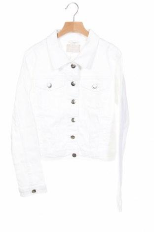 Γυναικείο μπουφάν Tamaris, Μέγεθος XS, Χρώμα Λευκό, 98% βαμβάκι, 2% ελαστάνη, Τιμή 30,16€