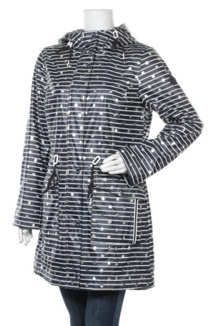 Γυναικείο μπουφάν Tom Tailor, Μέγεθος L, Χρώμα Μπλέ, Πολυουρεθάνης, Τιμή 57,60€