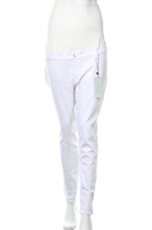 Дънки за бременни Anna Field, Размер XL, Цвят Бял, 90% памук, 10% еластан, Цена 27,56лв.