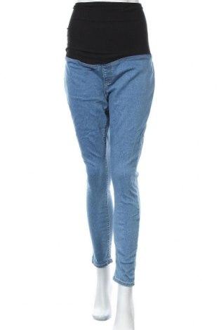 Дънки за бременни Anna Field, Размер XL, Цвят Син, 75% памук, 22% полиестер, 3% еластан, Цена 25,97лв.