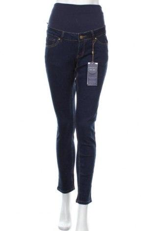 Дънки за бременни Reform Jeans, Размер XS, Цвят Син, 98% памук, 2% еластан, Цена 31,27лв.