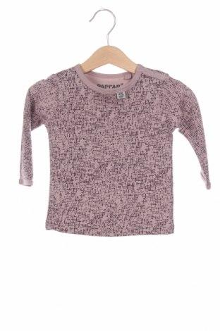 Детска блуза, Размер 6-9m/ 68-74 см, Цвят Пепел от рози, Памук, Цена 6,72лв.