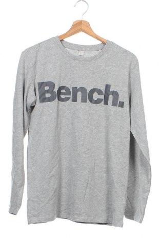 Παιδική μπλούζα Bench, Μέγεθος 13-14y/ 164-168 εκ., Χρώμα Γκρί, 85% βαμβάκι, 15% βισκόζη, Τιμή 18,44€