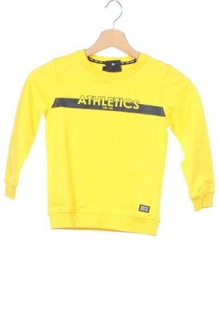 Детска блуза Cars Jeans, Размер 5-6y/ 116-122 см, Цвят Жълт, Памук, Цена 12,60лв.