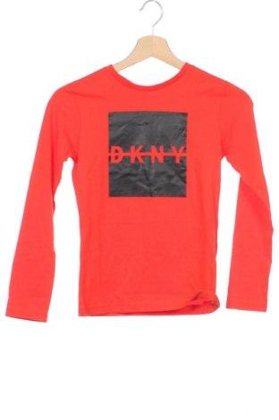 Παιδική μπλούζα DKNY, Μέγεθος 9-10y/ 140-146 εκ., Χρώμα Κόκκινο, Βαμβάκι, Τιμή 16,45€