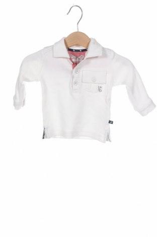 Детска блуза Ducky Beau, Размер 1-2m/ 50-56 см, Цвят Бял, Памук, Цена 7,80лв.