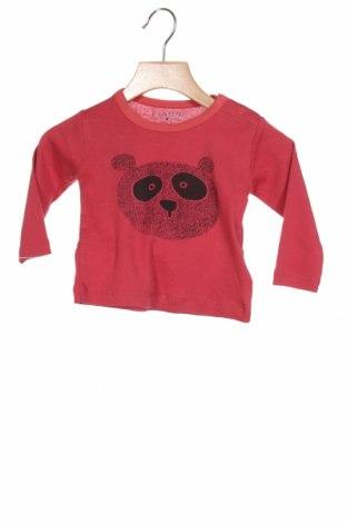 Детска блуза Fixoni, Размер 3-6m/ 62-68 см, Цвят Розов, Памук, Цена 33,00лв.