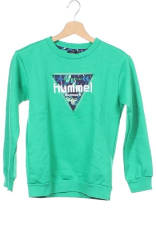 Παιδική μπλούζα Hummel, Μέγεθος 8-9y/ 134-140 εκ., Χρώμα Πράσινο, 70% βαμβάκι, 30% πολυεστέρας, Τιμή 9,84€