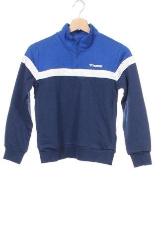 Παιδική μπλούζα Hummel, Μέγεθος 9-10y/ 140-146 εκ., Χρώμα Μπλέ, 64% βαμβάκι, 36% πολυεστέρας, Τιμή 14,23€