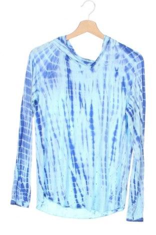 Детска блуза Justice, Размер 15-18y/ 170-176 см, Цвят Син, 95% вискоза, 5% еластан, Цена 21,74лв.