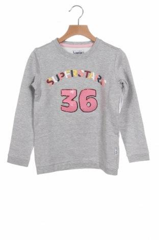 Детска блуза Lamino, Размер 6-7y/ 122-128 см, Цвят Сив, 90% памук, 5% вискоза, 5% еластан, Цена 11,90лв.