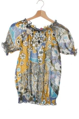 Παιδική μπλούζα Liu Jo, Μέγεθος 13-14y/ 164-168 εκ., Χρώμα Πολύχρωμο, 70% βαμβάκι, 30% μετάξι, Τιμή 23,45€