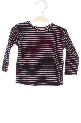 Детска блуза Noppies, Размер 3-6m/ 62-68 см, Цвят Син, 80% памук, 20% полиестер, Цена 6,44лв.