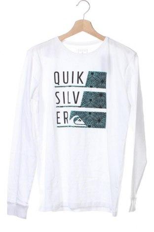 Παιδική μπλούζα Quiksilver, Μέγεθος 14-15y/ 168-170 εκ., Χρώμα Λευκό, Βαμβάκι, Τιμή 20,68€
