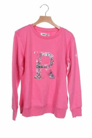 Παιδική μπλούζα Replay, Μέγεθος 11-12y/ 152-158 εκ., Χρώμα Ρόζ , 80% βαμβάκι, 20% πολυεστέρας, Τιμή 21,34€